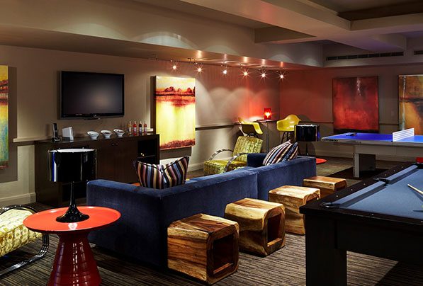 The Game Room sits ready to welcome kids in Aspen for fun.
