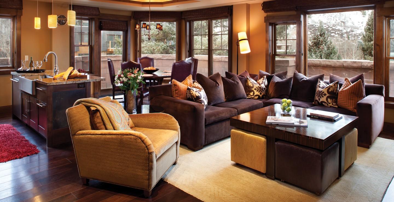 Dancing Bear Aspen Residence Living Room