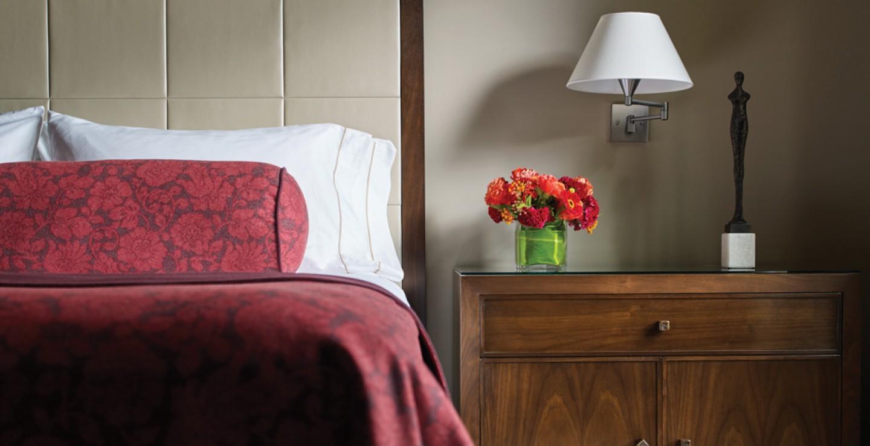 Dancing Bear Aspen Residence Bedroom Detail